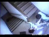 Rape of a young student captured on CCTV camera ->
