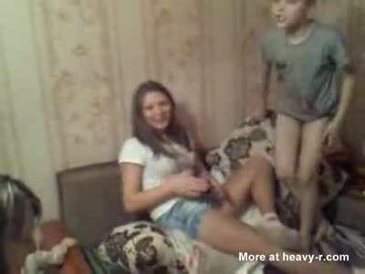 Upskirt Drunk russian girl ->