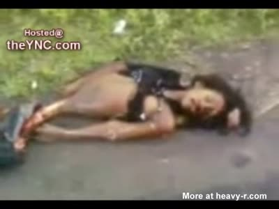Gore video  Girls killed and mutilated on the road-> [4:21x432p]-> [4:21x432p]-> [4:21x432p]->